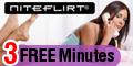 3-free minutes on Niteflirt.com